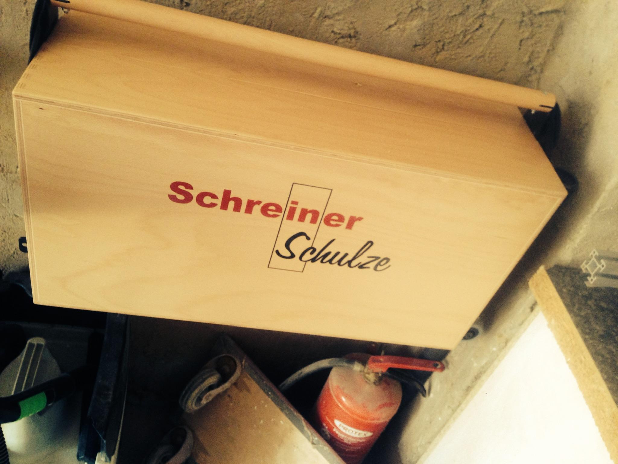 Werkzeugkasten der Schreinerei Schulze